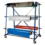 Six Roll Fabric Rack